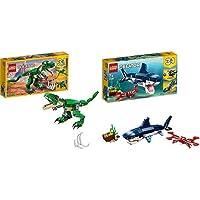 Lego Creator Tirannosauro 3 In 1 Set Di Costruzioni Per Creare Tre Diversi Dinosauri Per Bambini 7-12 Anni, 31058…