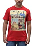 Romano Men's Cotton Round Neck Red