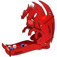 """e-Raptor era31715""""dados Torre dragón"""" Juego de mesa, rojo, grande"""