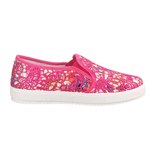 W-61, chaussures basses femme Multicolore - Pink Multi