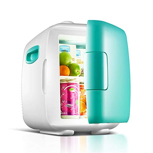 WYJW Auto refri12V DC 220V AC Dual-Core-Kühlung Heizung Kühlschrank Kühlschrank Mini-Kühlschrank Kleinstkühlschrank für Privathaushalte Auto-Dual-Use-Kühlschrank (Farbe: C)