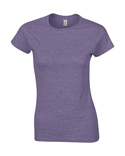 Fashionable Jersey Ladies T-Shirt New Colors heather_purple