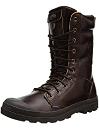 Palladium Tactical Leather WP - Botas de Piel para hombre Marrón marrón