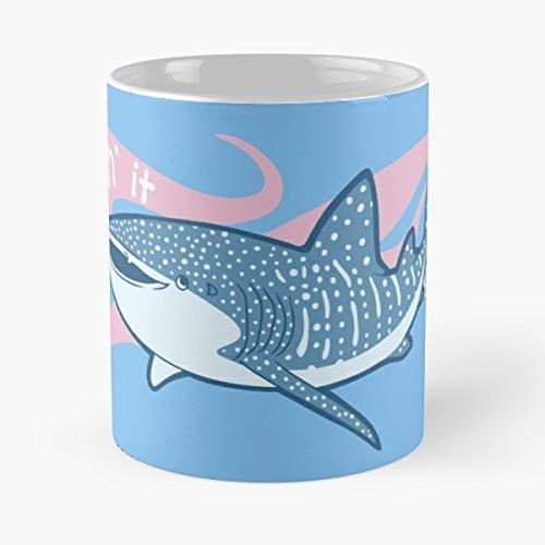 Shark Whale Krill Plankton Filter Feeder Ocean Marine Life Fish Sharks - Best 11 oz Kaffee-Becher - Tasse Kaffee Motive -