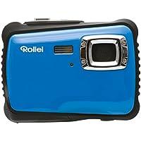 Rollei Sportsline 64 - Flexible Digitalkamera mit 5 MP CMOS Sensor, HD Videofunktion 720p (1280 x 720 Pixel) - Wasserdicht bis 3 Meter - Blau