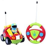 Webby Radio Control Cartoon Racing Toy (Multi-Color)