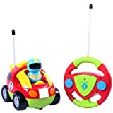 Webby Radio Control Cartoon Racing Toy, Multi Color