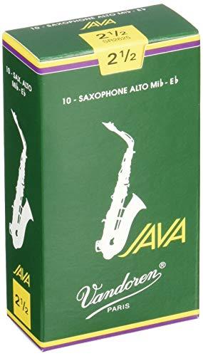 Vandoren SR2625 Box 10 Ance Java Verdi 2.5 Sax Alto