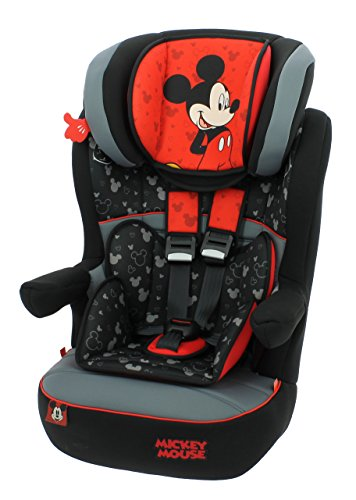 Nania Driver Group 0+//1 Infant High Booster Car Seat Disney Mickey