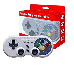 JFUNE Wireless Game Controller Gamepad für Nintendo Switch, PC Video Games