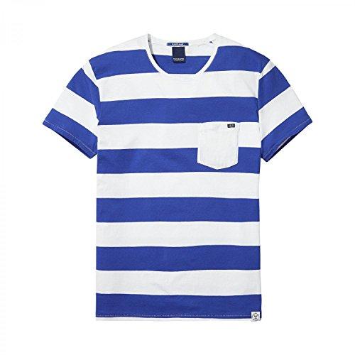 Scotch & Soda Herren T-Shirt Pocket Tee 137750 Combo C