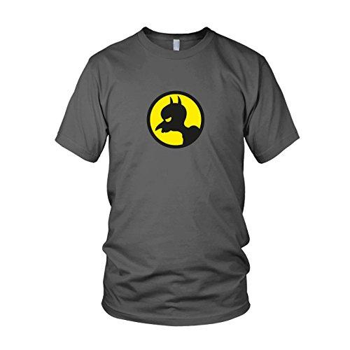 Burns Begins - Herren T-Shirt, Größe: XL, Farbe: (Kostüm Knight Arkham Batman Dark The Origins)
