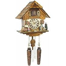 Orologio a cucù al quarzo Casa tipo Foresta Nera, incl. batterie