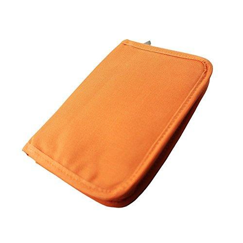 Holder Card Orange Business (Hrph Travel-Pass-Gutschrift Identifikation-Kartenhalter Geldgeldbeutel -Organisator-Beutel-Geldbeutel -Mode Durable Bank Card-Halter-Organisator)