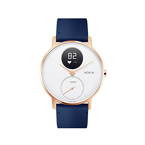 Nokia Steel HR Rose Gold Hybrid Smartwatch Activity Fitness And Heart Rate Tracker