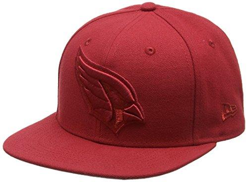 New Era Herren 9FIFTY Snapback Metallic Mark Arizona Cardinals NFL Cap, Dark Red
