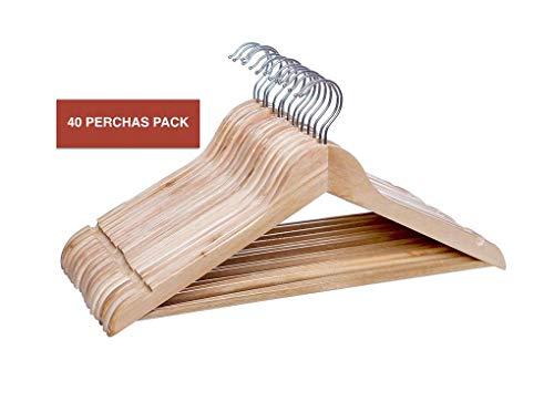 Comfort House SLU Percha Madera Natural 40UDS