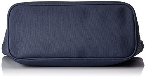 piero guidi Pg Glossy Discovery, Borsa Tote Donna, 31 x 30 x 14.5 cm (W x H x L) Blu (Blu Navy)