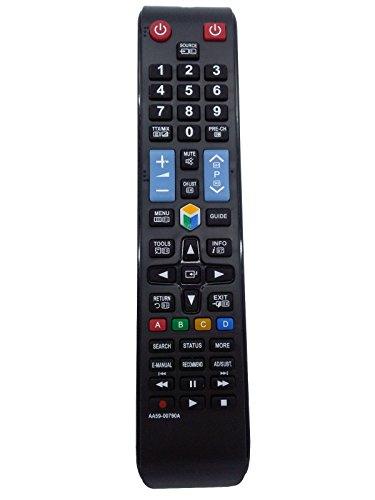 Vinabty reemplazado control remoto del televisor AA59-00790A para Samsung Smart 3D LCD LED HDTV TV UE39F5 …