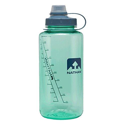 Nathan Big Shot Narrow Mouth Flasche 1 Liter verschiedene Farben 4321 große Trinkflasche (Cockatoo)