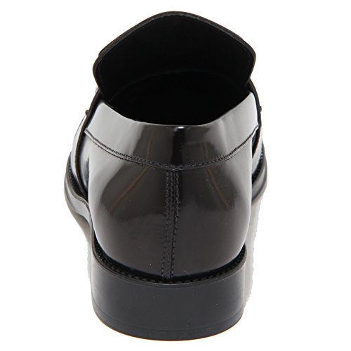 9199N mocassino TOD'S nero bordeaux scarpe donna loafer women Nero/Bordeaux