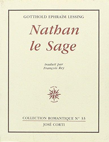 Nathan le Sage par Gotthold Ephraim Lessing