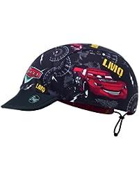 Réversible BUFF CAP avec Visière et 98% UV Protection pour Enfants, Polyester, taille 2-4
