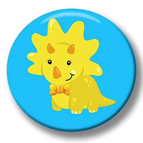 Dinosaurier Kostüm Ziel - Polarkind Button Pin Karneval Anstecker Dino Dinosaurier 38mm Handmade Kindergeburtstag