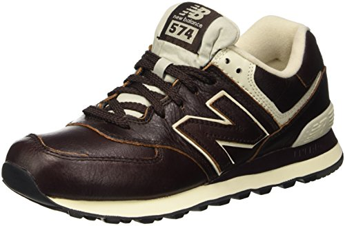New Balance ML574LUA-574, Scarpe Running Uomo, Marrone (Barrel Brown 211), 43 EU