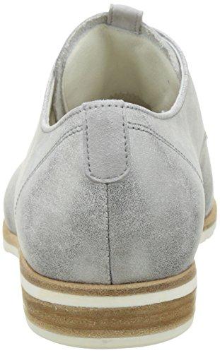 Gabor Shoes Comfort, Scarpe Stringate Donna Grigio (steel 61)