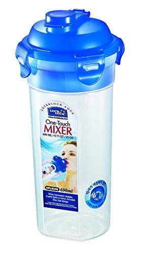 JWP rund Mixer/Shaker Container, Kunststoff, transparent, 690ml (Locknlock Container)
