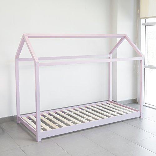 Zoom IMG-2 letto montessori rosa