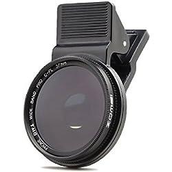 ZoMei 37mm Professionnel téléphone Portable Appareil Photo polarisant Circulaire CPL Objectif pour iPhone 6S/6S Plus/Samsung Galaxy/Windows et Smartphones Android