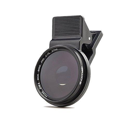 ZoMei Professionelle Handy Kamera 37mm Zirkulärer Polfilter CPL Objektiv für iPhone 6S/6S Plus/Samsung Galaxy/Windows und Android Smartphones