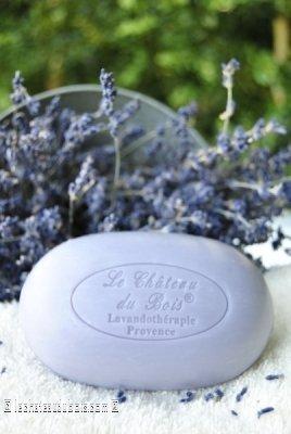 Le Chateau du Bois: Ovale Seife aus reinem Pflanzenöl mit echtem feinen Lavendel AOC der Haute Provence und Shea-Butter,250g -