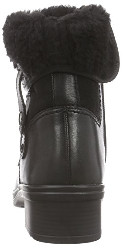 GaborComfort Basic 36.701 - Stivali classici imbottiti a gamba corta donna Nero (Schwarz (schwarz (Mel.) 57))