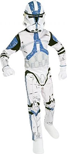 Lizenziertes Kostüm Kind-Clone Trooper- Medium