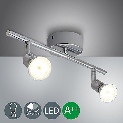 Barras de focos led gu10 4w Iluminación de luz foco direccional para...