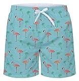 NEWISTAR Badehose Herren Wasserdichte Schnelltrocknend Badeshorts für Männer Schwimmhose Jungen Beachshorts Boardshorts Strand Shorts mit Mesh-Futter