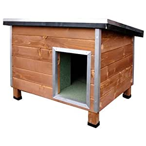 Robuste niche en bois pour chiens Nevada Madera Grand