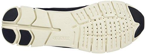 Geox D Sukie A, Scarpe da Ginnastica Basse Donna Blu (Navy)