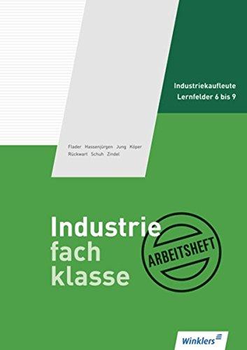 Schmolke/Deitermann Industriefachklasse: Industriefachklasse: 2. Ausbildungsjahr für Industriekaufleute: Lernfelder 6 bis 9: Arbeitsheft, übereinstimmend ab 2. Auflage des Schülerbuches