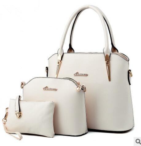 HQYSS Borse donna Atmosfera di europei e americani di moda gli stereotipi femminili tracolla Messenger Handbag , treasure blue white