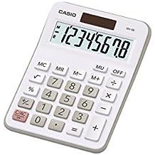 Casio MX-8B-WE - Calculadora básica, gris