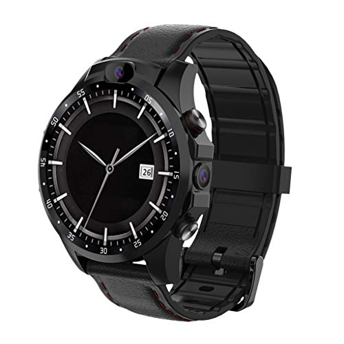 MuSheng Bluetooth Smart Watch Sports for Cycling, Fitness Swimming Heart Rate Blood Pressure Monitor Pedometer 3 + 32GB 4GSmart Uhr Sport Tracker Herzfrequenz GPS 5MP Kamera für Android - Samsung 5 Mp