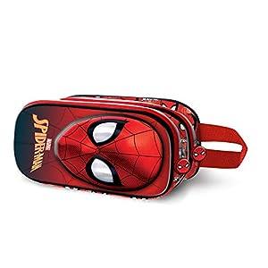 Spiderman Spiderweb-Estuche Portatodo 3D Doble