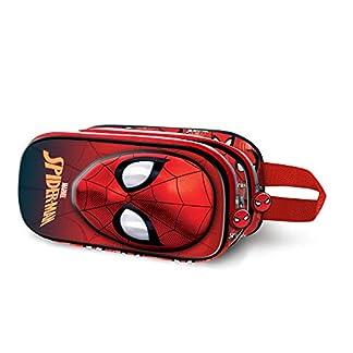 KARACTERMANIA Portatodo 3D Doble Spiderman 10X22,5X7 cm