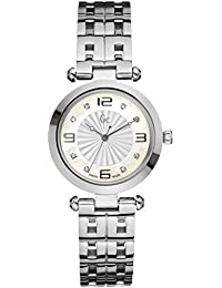 Reloj Guess Collection Gc Class Lady 8 Diamond X17106l1s Mujer Nácar