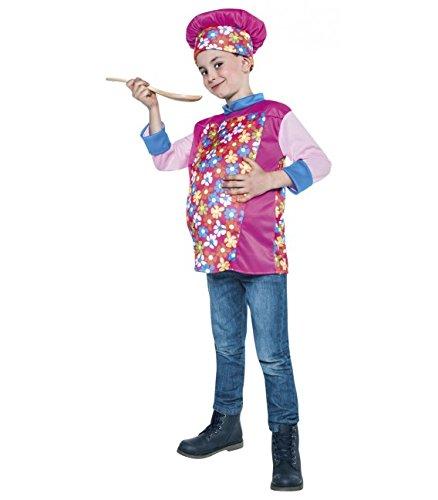 disfraz de chef divertido talla 5-6