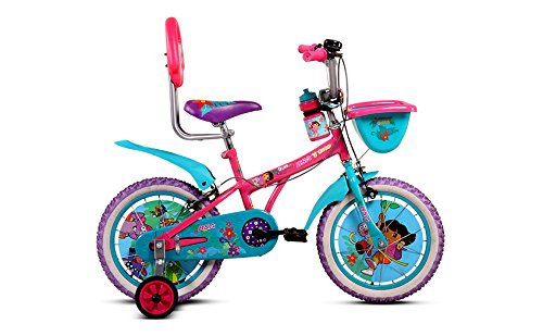 bsa champ dora bicycle, 16-inch (multicolor) BSA Champ Dora Bicycle, 16-inch (Multicolor) 4186jCuBTFL